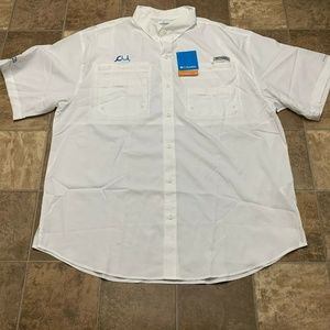 COLUMBIA Tamiami II PFG Omni-Shade Shirt NEW